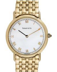 Heritage Tiffany & Co. Tiffany & Co. 2000s 18k Roman Watch - Metallic