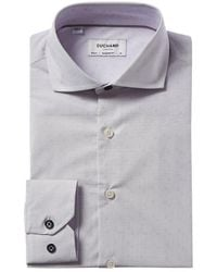 Duchamp Tailored Fit Dress Shirt - Grey