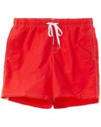 Sundek Swim Trunk - Red