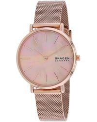 Skagen Denmark Signature Watch - Pink