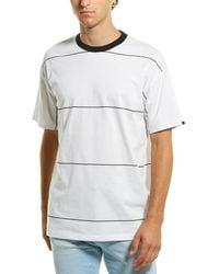 Zanerobe Space Stripe Box T-shirt - White