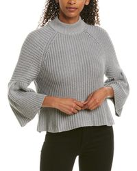 Autumn Cashmere Cotton By Sweater - Gray