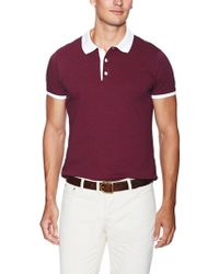Shipley & Halmos - Broome Striped Cotton Polo - Lyst
