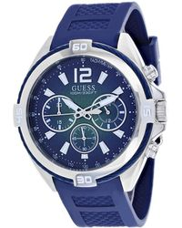 Guess Men's Surge Watch - Blue