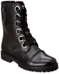 Zadig & Voltaire Joe Leather Bootie - Black