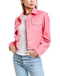 Helmut Lang Masc Trucker Jacket - Pink