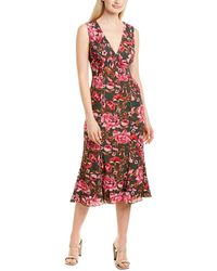 Fame & Partners Fame And Partners Midi Dress - Green