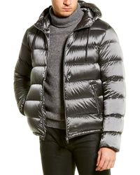 Herno Hooded Down Jacket - Blue
