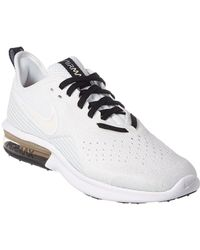 separation shoes 8f489 dc425 Nike - Air Max Sequent 4 Mesh Trainer - Lyst