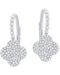 Sabrina Designs 14k 0.32 Ct. Tw. Diamond Earrings - Multicolour