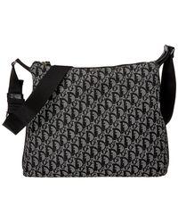 Dior - Black Trotter Canvas Shoulder Bag - Lyst