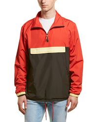 Wesc The Blocked Anorak - Red