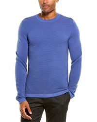 Theory Grego Wool-blend Jumper - Brown
