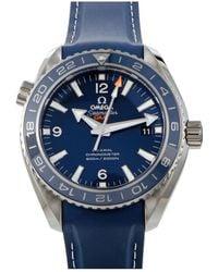 Omega Seamaster Planet Ocean 600m Watch - Metallic
