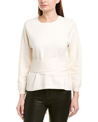 Ba&sh Hanna Cashmere-blend Sweater - Natural