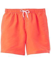 Sundek Bs/rb Swim Trunk - Orange