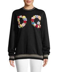 Dolce & Gabbana Longline Sweatshirt - Black