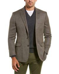 Brooks Brothers Regent Fit Wool-blend Sportscoat - Brown