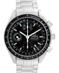 Omega - Pre-owned Vintage Speedmaster Silver Steel Watches - Lyst