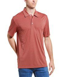 Brooks Brothers Golf Polo - Orange