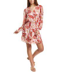 Parker - Athens Silk Mini Dress - Lyst