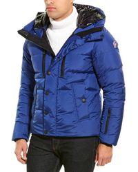 Moncler Down Coat - Blue