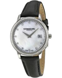 Raymond Weil Raymond Weidl Womens Toccata Diamond Watch - Multicolor