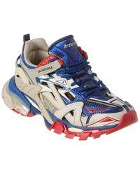 Balenciaga Track.2 Neoprene & Rubber Sneaker - Red