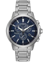 Citizen - Men's Titanium Watch - Lyst
