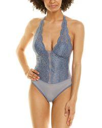 B.tempt'd B.temptd By Wacoal Ciao Bella Bodysuit - Blue
