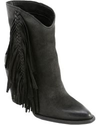 Dolce Vita Kendel Leather Bootie - Black