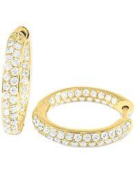 Sabrina Designs 14k 0.93 Ct. Tw. Diamond Earrings - Metallic