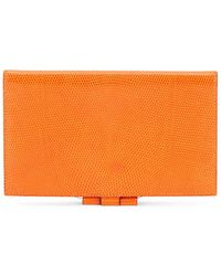 Hermès Orange Lizard Agenda