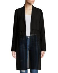 BCBGeneration | Woven Ruffled Jacket | Lyst