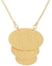 Gurhan Mango 24k & 18k Necklace - Metallic