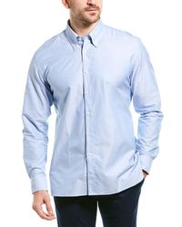 Dunhill Norris Woven Shirt - Blue