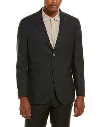Michael Bastian Slim Fit Wool Sport Coat - Grey