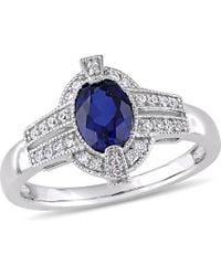 Rina Limor - Fine Jewelery 10k 1.52 Ct. Tw. Diamond & Gemstone Ring - Lyst