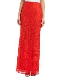 St. John - Silk-lined Skirt - Lyst