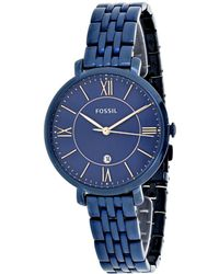 Fossil Women's Jacqueline Watch - Blue