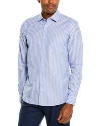 Reiss Rayth Regular Fit Woven Shirt - Blue