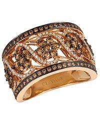 Le Vian ? 14k Rose Gold 1.35 Ct. Tw. Diamond Ring - Metallic