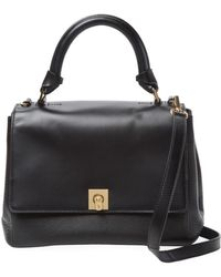 Ted Baker - Trapeze Leather Tote Bag - Lyst