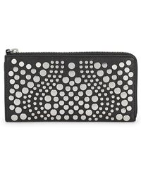 Vince Camuto - Studded Leather Wallet - Lyst