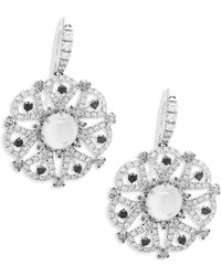 Roberto Coin - Margherita Diamond & Mother-of-pearl Drop Earrings - Lyst