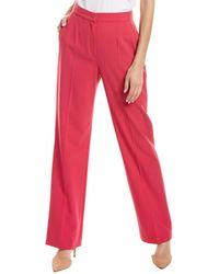 ESCADA Tamuki Wool-blend Pant - Pink