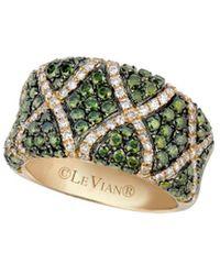 Le Vian Exotics 14k 1.93 Ct. Tw. Diamond Ring - Green