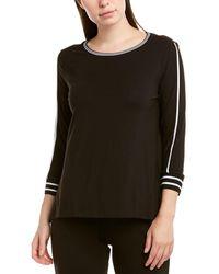 Donna Karan High-low Top - Black