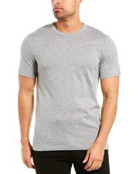Theory Air Cashmere-blend T-shirt - Grey