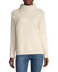 Diane von Furstenberg Jayleen Ribbed Sweater - White